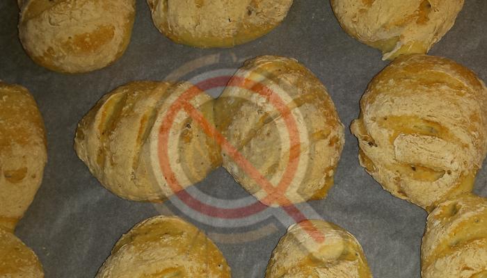 Ατομικά ψωμάκια χωρίς γλουτένη